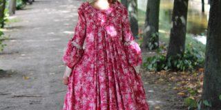 Rokoko-Kleid pünktlich fertig zum Schlossfest